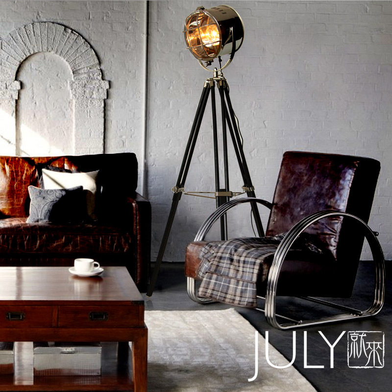 Modern Lamps Come LOFT Clothing Industry Creative Retro Living Room Bedroom Floor Lamp Studio Hang Haiwang