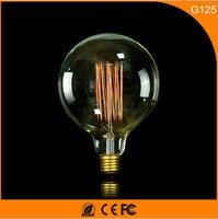 50Pcs 40W Vintage Design Edison Filament B22 E27 LED Bulb,G125 Energy Saving Decoration Lamp Replace Incandescent Light AC220V