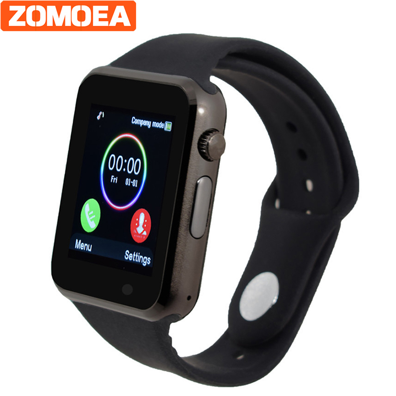 men women T2 Smart watch for android Support SIM/TF pedometer sport bluetooth watches for Samsung xiaomi phone Camera clock