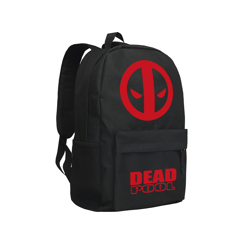 ФОТО Marvel's The Avengers Backpacks for Teenage Boys Black Batman Superman Agents of Shield School Bags Men Dead Pool Backpacks