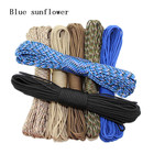 120 colors Paracord 550 Paracord Parachute Cord Lanyard Rope Mil Spec Type III 7Strand 100FT Climbing Camping survival equipment