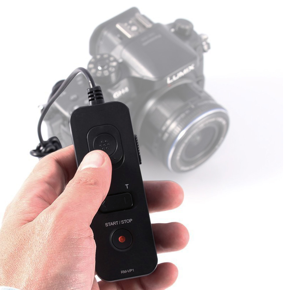 Fotga RM-VP1 Remote Control Shutter Release Cable for Panasonic GH3 GH4 GH5 wired remote shutter release for panasonic camera