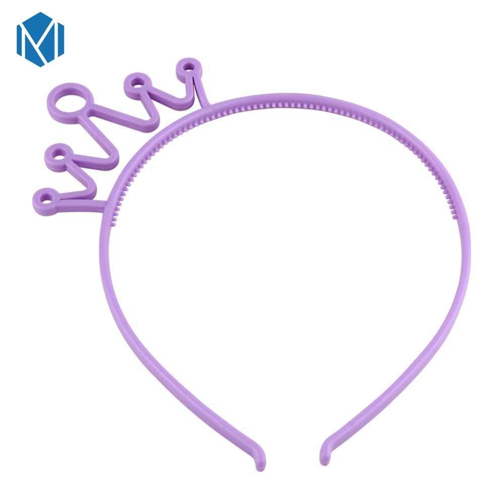M MISM ใหม่กล่องหูเลื่อมผมน่ารักแถบคาดศีรษะผมอุปกรณ์เสริมผม Hoop สำหรับผู้หญิงเด็กผู้หญิงปาร์ตี้เทศกาล
