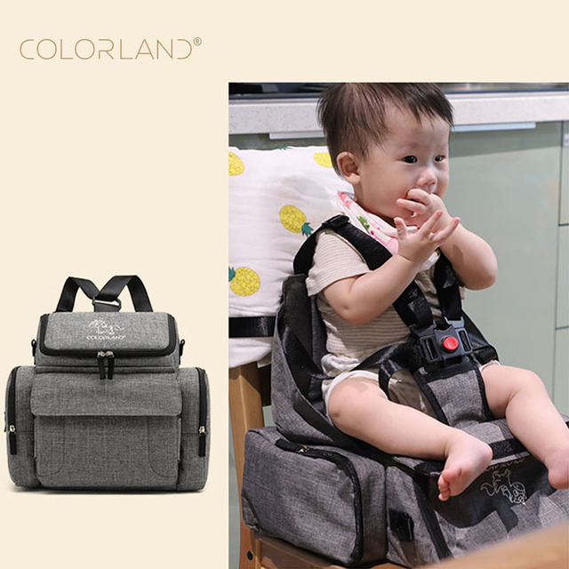 Colorland Polyester Baby Diaper Backpack Bag Ny Changing Maternity Travel Stroller Organizer Accessories Feeding Highchair