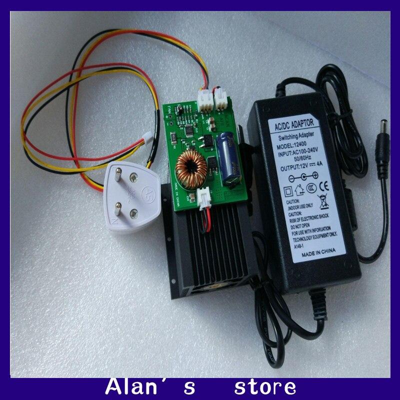 DIY 15w high power laser module, laser cutter, 450nm ,DIY Co2 laser engraver