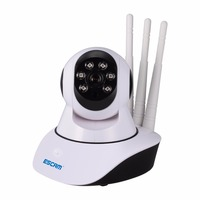 New 960p Escam QF503 Three Antenna Wireless YOOSEE IP Camera Night Vision IR Security Support 433MHz