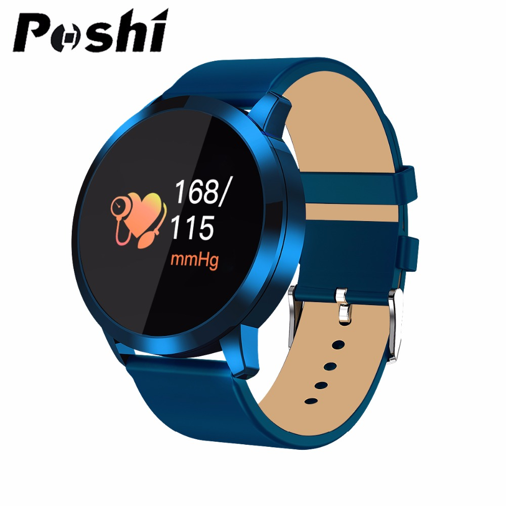 Smart Watch Sport Waterproof Pedometers Message Reminder OLED Bluetooth Outdoor Fitness Men Women Smartwatch For IOS Android
