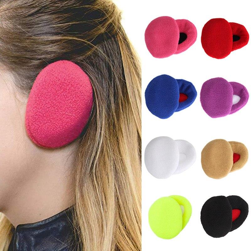 1 Pair Earbags Bandless Ear Warmers Earmuffs Autumn Winter Outdoor Ear Warmer JL