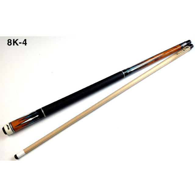 NEW 8K4 China Billiard Pool Cues Stick 11.5mm 12.75mm Tip 8 Pieces Wood Laminated Technology Shaft 2018 1
