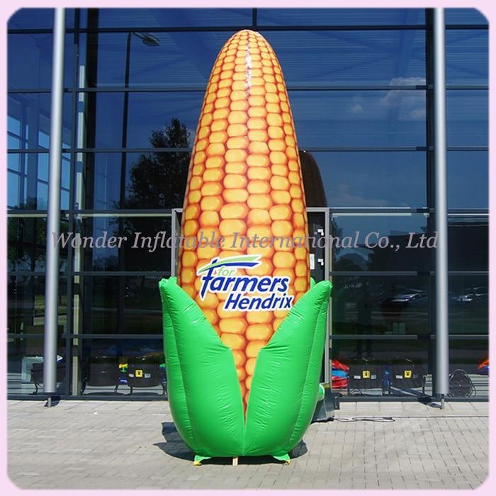 Ilmatäytteiset puhallettavat maissimallit, puhallettavat maissin - Tavarat lomien ja puolueiden - Valokuva 1
