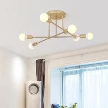 Modern LED Ceiling Chandelier Lighting Living Room Bedroom Chandeliers Creative Home Fixtures