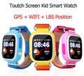 Preço barato Do Bebê Inteligente Relógio Rastreador LBS Gps WIFI touchscreen SmartWatch SOS chamada de Emergência