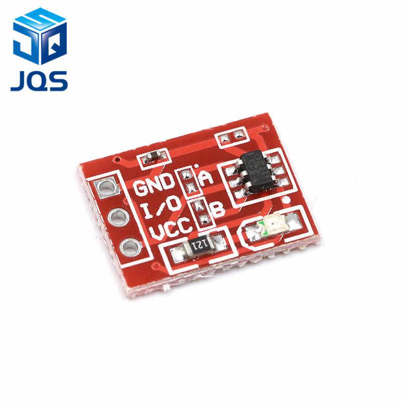 Nouveau TTP223 bouton tactile Module type de condensateur monocanal auto-bloquant capteur de commutateur tactile pour Arduino