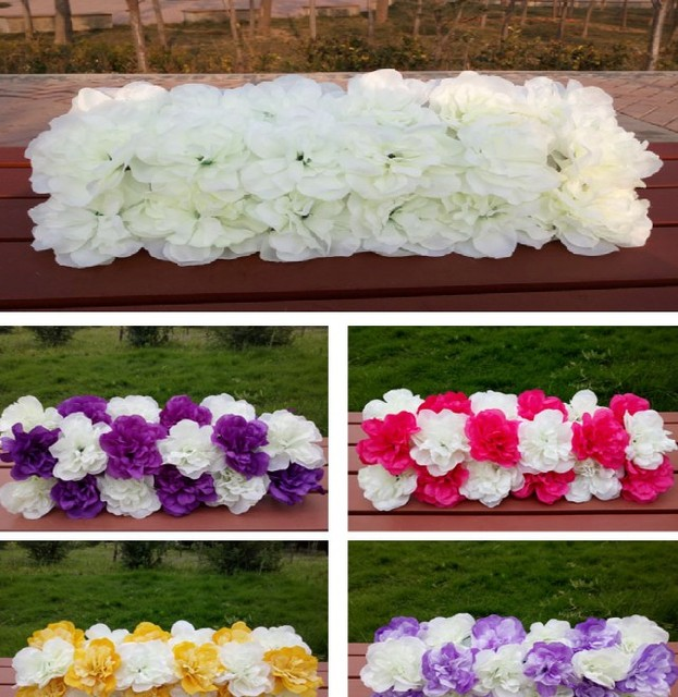 Aliexpress buy 2017 pillar arch flower wedding decoration 2017 pillar arch flower wedding decoration stage party backdrop flower road lead long table centerpiece flower junglespirit Image collections