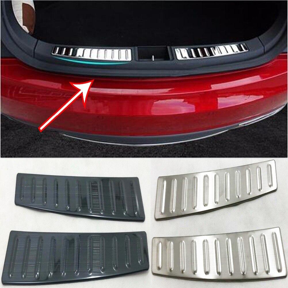 Rear Trunk Inside Tailgate Guard Skid Plate trim For Tesla Model S 2014-2017Rear Trunk Inside Tailgate Guard Skid Plate trim For Tesla Model S 2014-2017