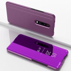Image 1 - Mirror Flip Smart Case for Redmi K20 Pro 5 Plus 6 6A 4X Note 5A 3 4X 5 6 Pro Y1 Lite S2 Y2 Clear view case for Xiaomi 9T Pro 5C