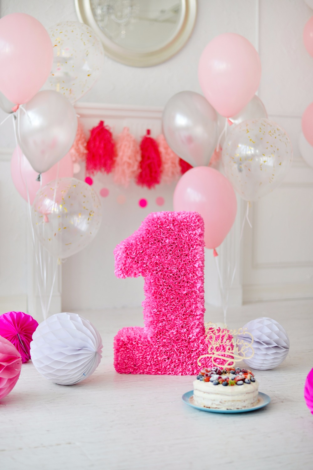 Life Magic Box Balloons Cakes Backdrop Photography Background First