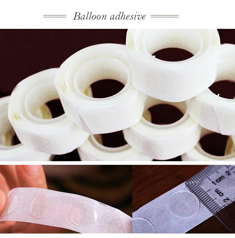100-500PCS Point Balloon Attachment Glue Dot Attach Balloons Wall Balloon Sticks