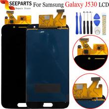 5 2 #8222 do Samsung Galaxy J5 2017 wyświetlacz LCD + J530 J530F SM-J530F ekran dotykowy przetwornik analogowo-cyfrowy do Samsunga J5 J530 LCD tanie tanio seeparts Pojemnościowy ekran Odnowiony Galaxy s 1920x1080 3 For Samsung Galaxy A10 LCD i ekran dotykowy Digitizer LCD Display For Samsung Galaxy J5 2017 LCD