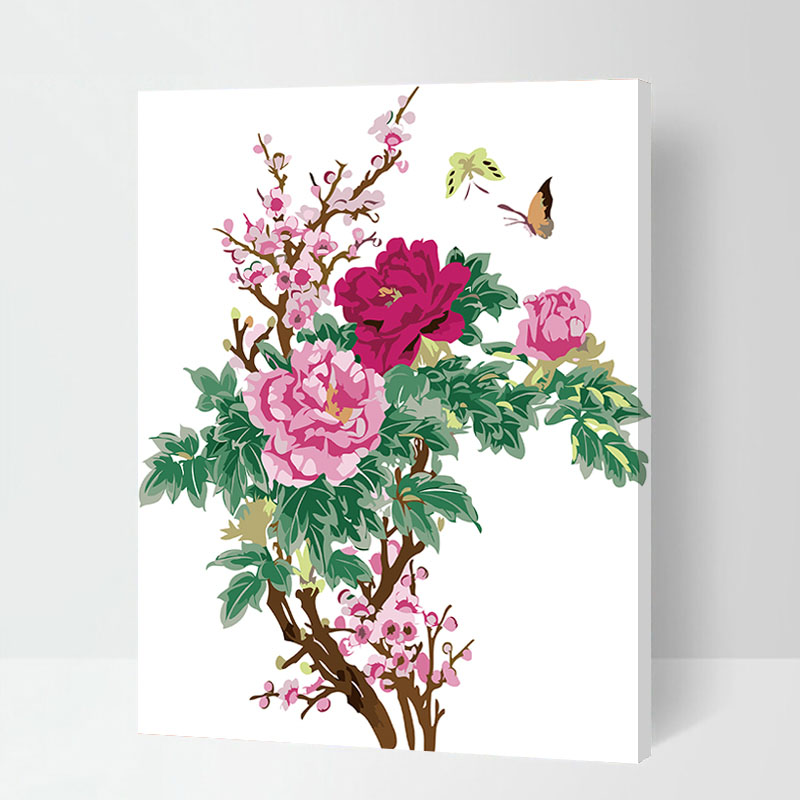 Online Buy Wholesale chinese peony painting from China