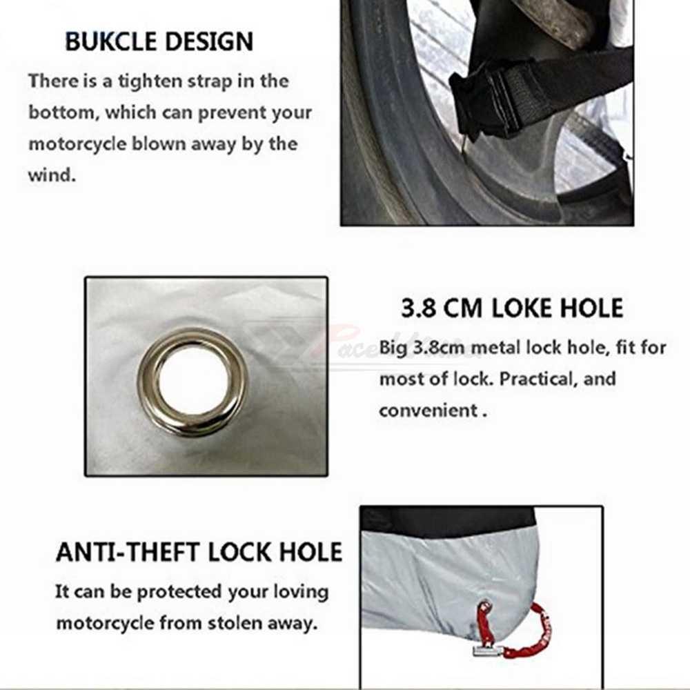 5 цветов мотоциклетный чехол Защитный универсальный открытый защитный велосипедный пылезащитный дождевик для водонепроницаемого медного скутера