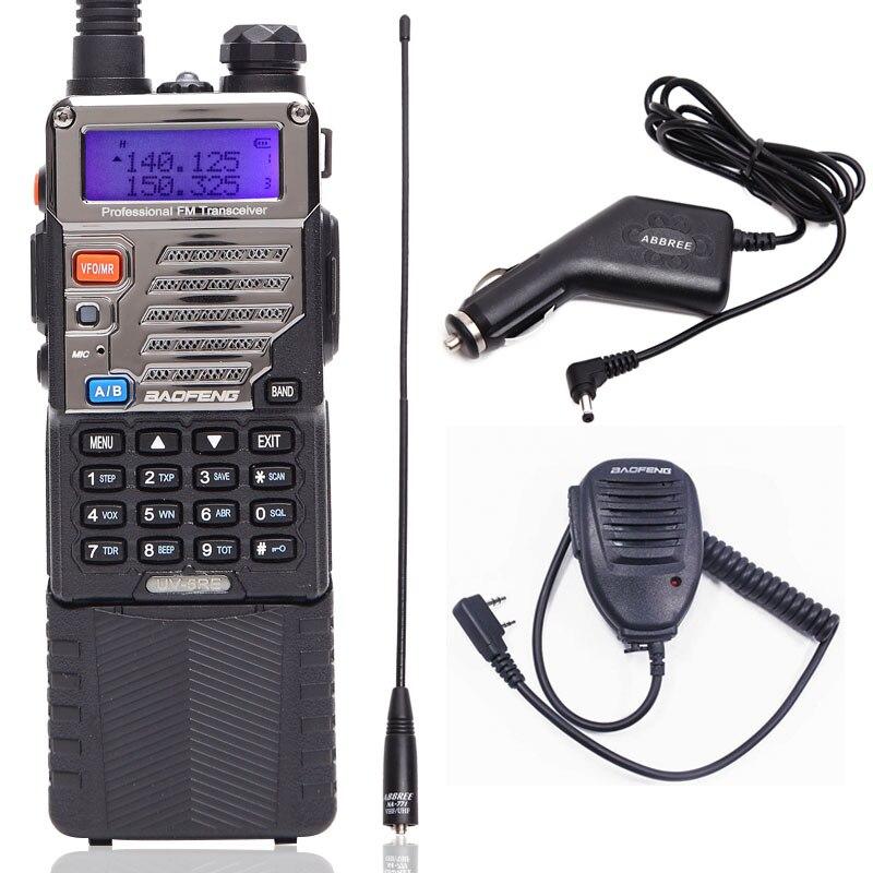 BaoFeng UV 5RE 8W Walkie Talkie high Power CB Ham Radio 3800mah Battery 10km long range
