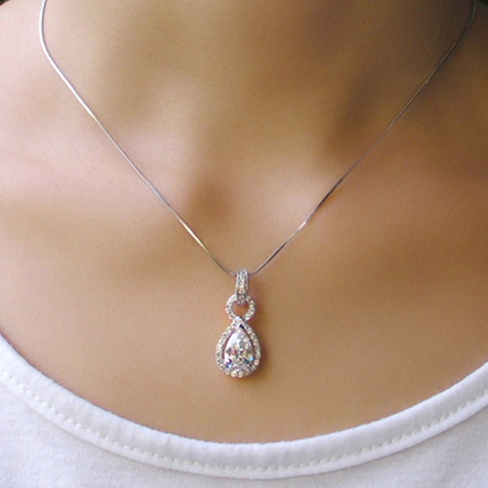 necklace carat white gold graduated diamond jewelry with in round nl wg