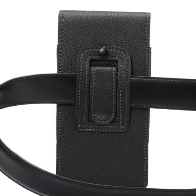 Universal Belt clip Holster for 3.5''~6.3'' Mobile Phone Bag Case Men Waist Bag for iPhone Samsung Huawei Hidden Magnetic Buckle 4