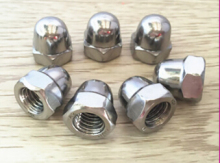 10pcs M6/M8/M10/M12 Cover Nuts Hex Head Metric Stainless Steel Dome Cap