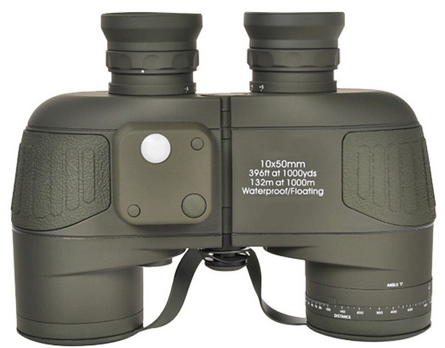 Hot Military Binoculars font b Rangefinder b font Tactical Hunting Marine Binoculars Waterproof Telescope Long Range