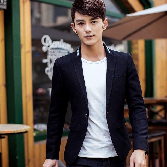 058d912ed63ce 2015 spring and autumn new Korean Slim small suit men leisure suit young men's  suit jacket single West