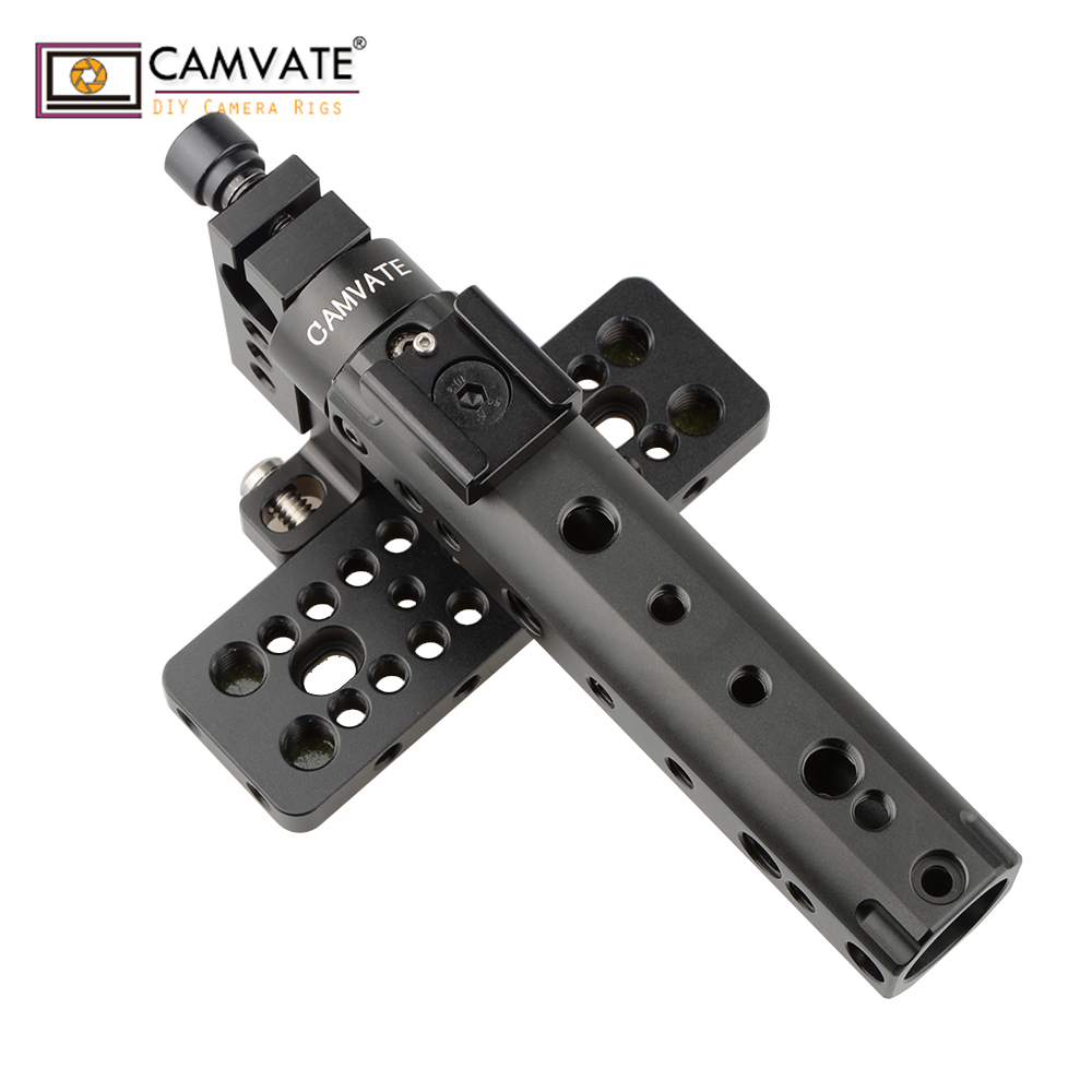CAMVATE Top Handle Camera Grip Support Top Plate Fr BlackMagic Cinema  Camera BMCC C1106