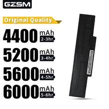 5200MAH laptop battery forMSI:CBPIL48, CBPIL72, BTY-M66,PACKARD BELL A32-Z94 SANYO,3UR18650F-2-QC-11