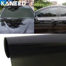 KANEED Black Car Window Tint Film Glass HJ65 Aumo-mate Anti-UV Cool Change Color Car Vehicle Chameleon Window Tint Film Scratch