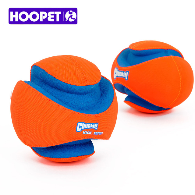 HOOPET Chuckit Fumble Fetch Toy for Pet Outdoor Puppy Football Soft Flexible Rubber Resistant To Bite Molar Interactive