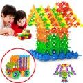 150 unids copo de nieve pequeñas partículas bloques de construcción de juguete diy educativos montessori para enlighten