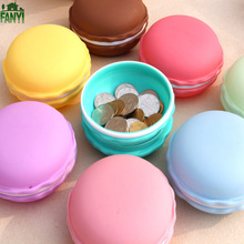FANYI Large Size Fresh Macaron Color Jewelry Boxes Portable Creative Medicine Box Cute Debris Makeup Storage Boxes