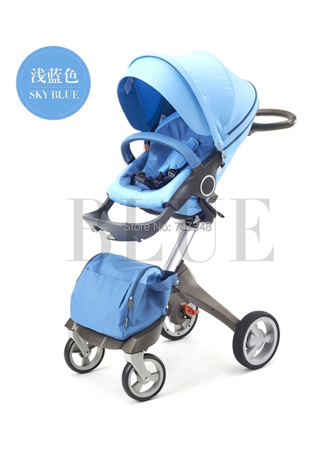 New Brand 2016 Dsland Stroller Suit Baby 0-3 years old Folding Stroller Portable Pram With Carry Cot Fast Delivery