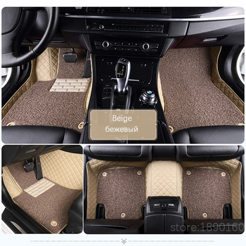 Custom car floor mats for Citroen c4 c5 c2 c3 c6 drain C-Quatre/Triomphe Elysee Picasso car accessories car styling Custom foot