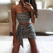 Ladies Clothes Set Summer Women Bodycon 2 Piece Crop Top Skirt Outfit Set Dress Party Club ropa mujer 2019 New Hot Sale Summer(China)