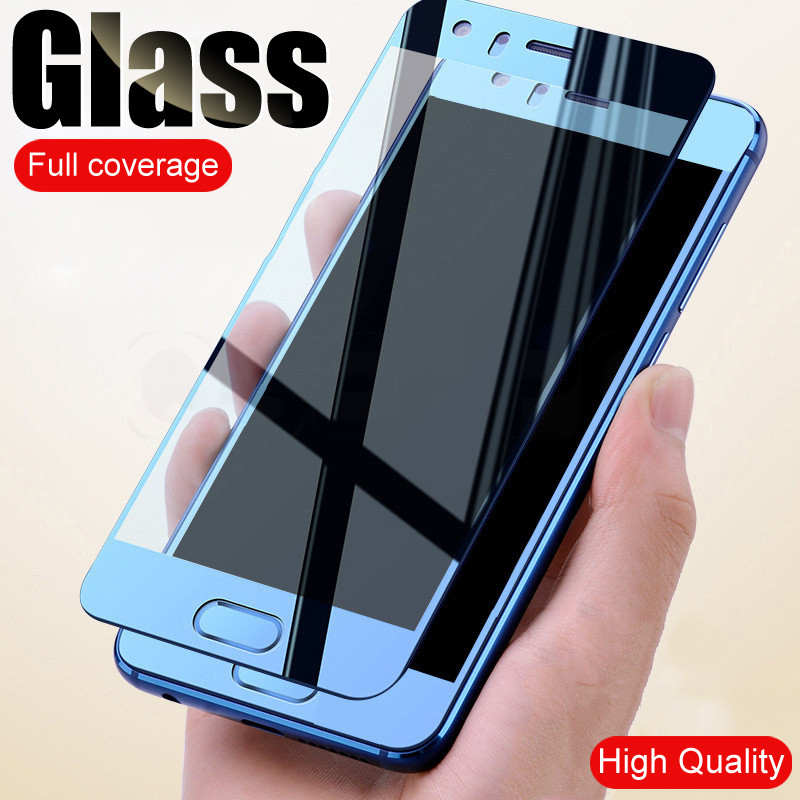 Full Cover Anti-Scratch Tempered Glass On The For Huawei Honor 8 9 V10 V9 Play High Quality Screen Protective Honor 9 Lite Film