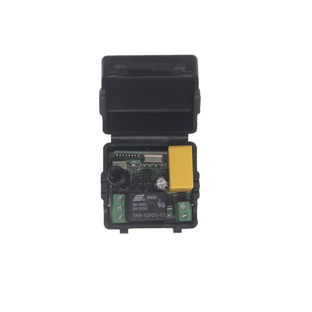 купить Mini Stable AC 220V 1 CH 1CH 10A Relay Receiver RF Wireless Light Lamp LED Bulb Strips Power Remote Control по цене 331.83 рублей