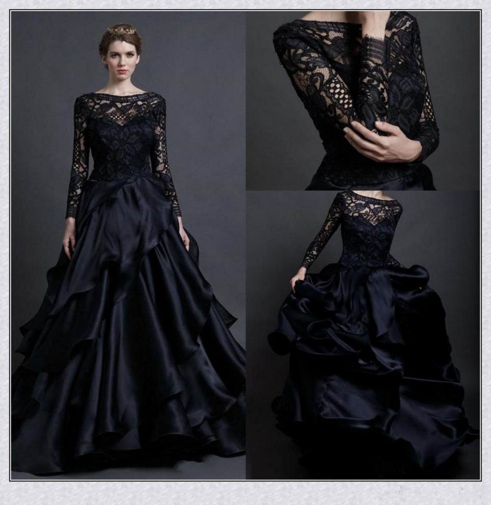 Gothic Wedding Dresses Promotion Shop For Promotional Gothic Wedding Dresses On Aliexpress