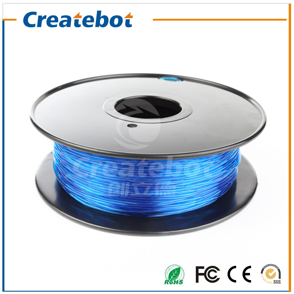 Blue Createbot 3D Flexible Filament 0.8kg High Quality with Best Price 1.75mm/3mm Flexible Filament for Option high quality best price 22 mm mechanical seal
