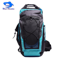 30L river trekking waterproof backpack Bag swimming bag adjustable shoulder strap loose belt IP7 high waterproof grade