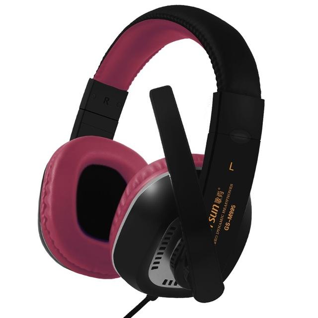 Rodeado de Deep Bass Auriculares Estéreo Diadema Gaming Headset Auricular con Micrófono para la Computadora Promoción de Videojuegos