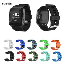 цена Replacement Silicone Wrist Watch Band Strap for Garmin Forerunner 35 Smart Watch Wristband Bracelet Smart Accessories