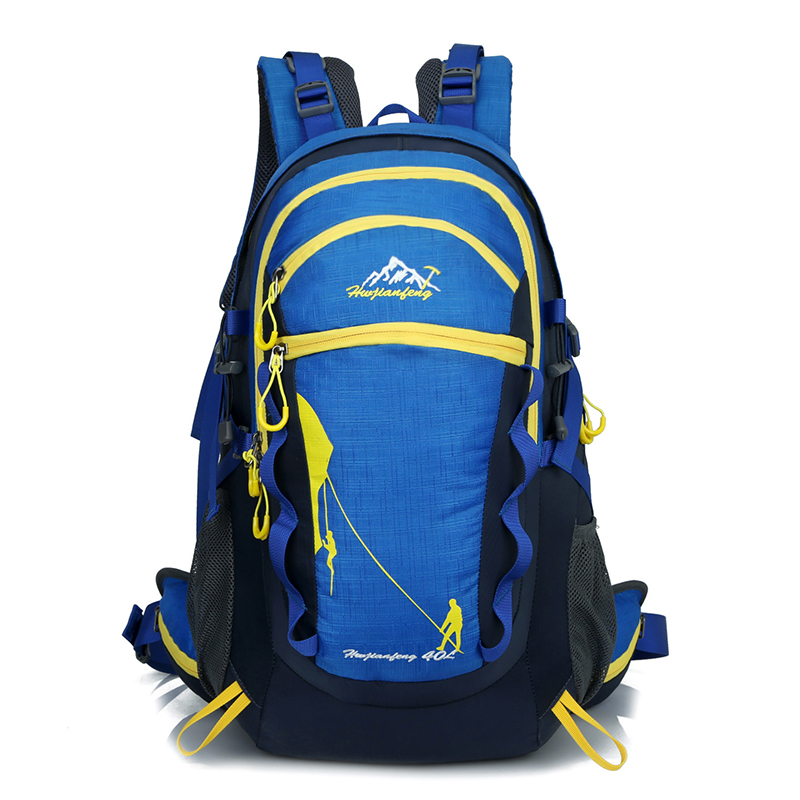 Waterproof Nylon Women&Men Travel Backpack Hike Camp Climb Mochilas Masculina Brand Bagpack Laptop Back Bag 2016 school bag 30L 2016 brand 40l waterproof nylon women