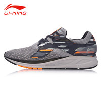 Li Ning Men FLASH Light Comfort Running Shoes Wearable Anti Slip Fitness Sneakers LI NING Autumn Flexible Sports Shoes ARBM057
