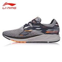 Li Ning Men FLASH Light Comfort Running Shoes Wearable Anti Slip Fitness Sneakers LI NING Autumn Flexible Sports Shoes ARBM057